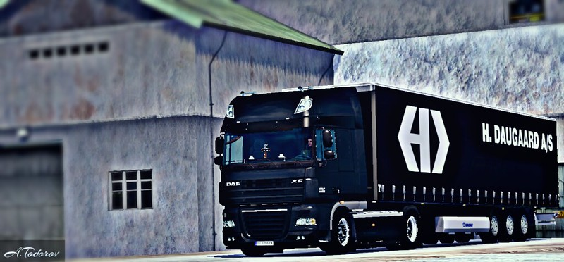 DAF 105 BLACK ETS2