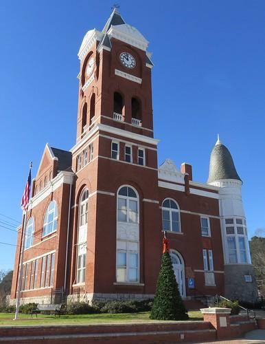 ga georgia libraries buchanan courthouses countycourthouses haralsoncounty usccgaharalson bruceandmorgan