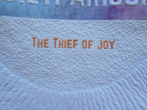 Quiltparison is the Thief of Joy