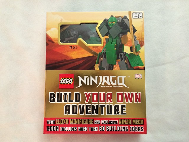 Afficher Le Sujet Review Livre Ninjago Build Your Own