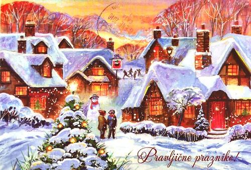 Christmas postcard from Slovenia