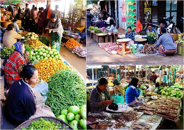 Bagan - Nyaung U Market 01