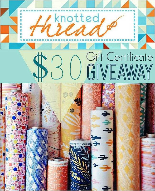 Knotted Thread GC Giveaway!!