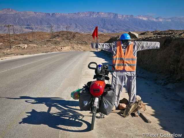 Meeting Oman's road construction workers