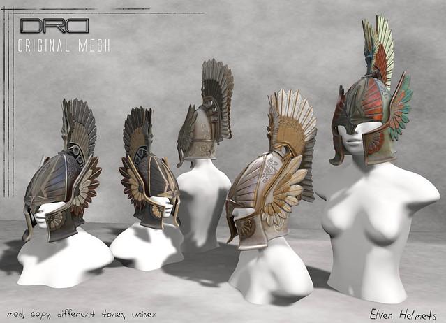 DRD- elven helmets