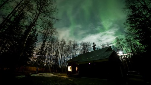 Wasilla Aurora Time lapse