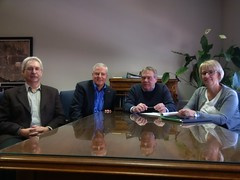 Budget talks with City of Cornwall representatives