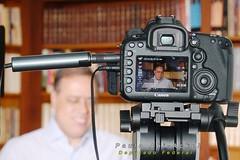 28 01 2016 - Paulo Abi-Ackel gravando para o site Conversa com os brasileiros