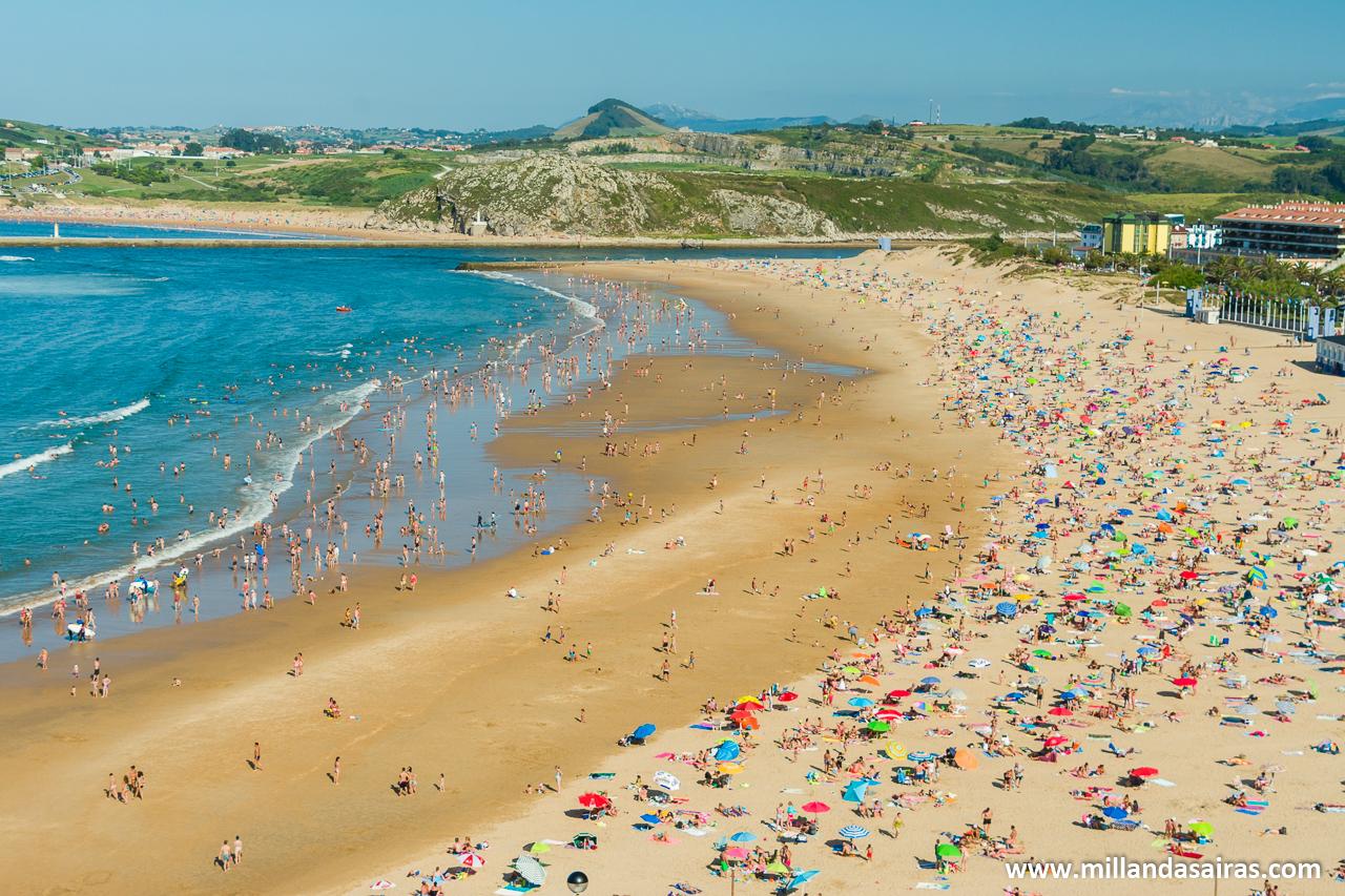 Playa de La Concha (aviso a despistaos, es la de Suances, no la de San Sebastián)