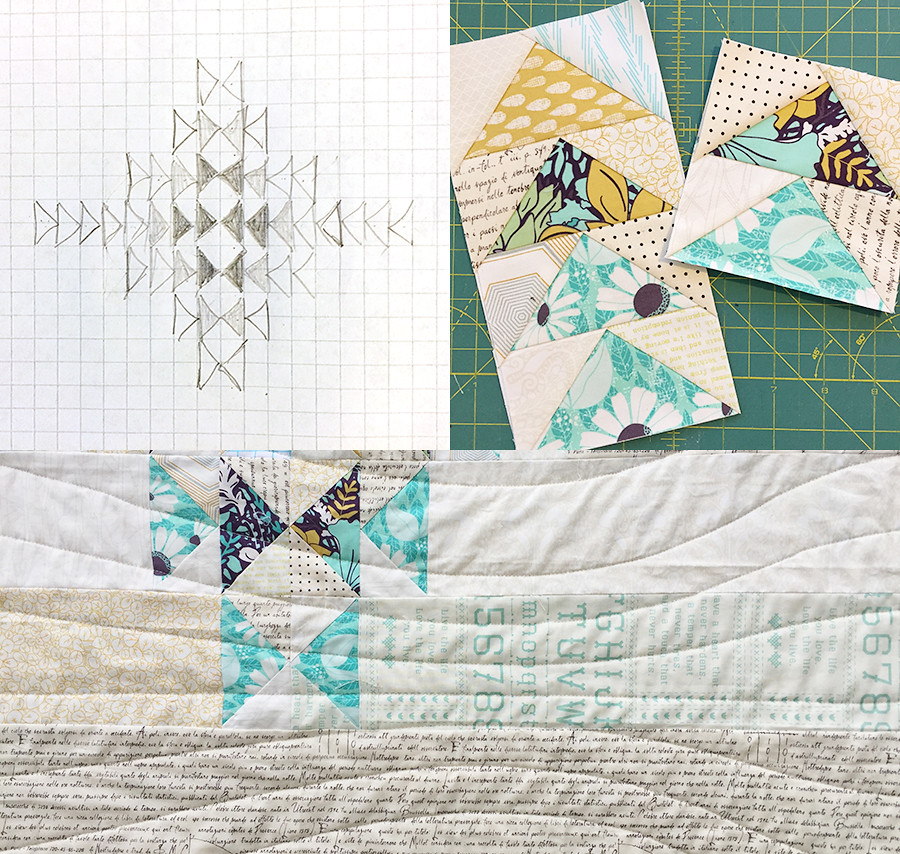 Together Quilt idea, piecing, quilting
