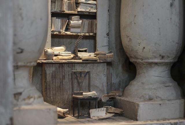 B127 - Peter Gabriëlse- box sculpture, new work at Kunst & Antiek Weekend - Naarden 2016