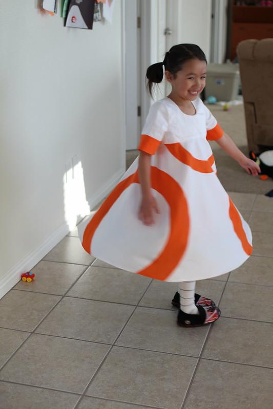 BB8 dress by replicate then deviate