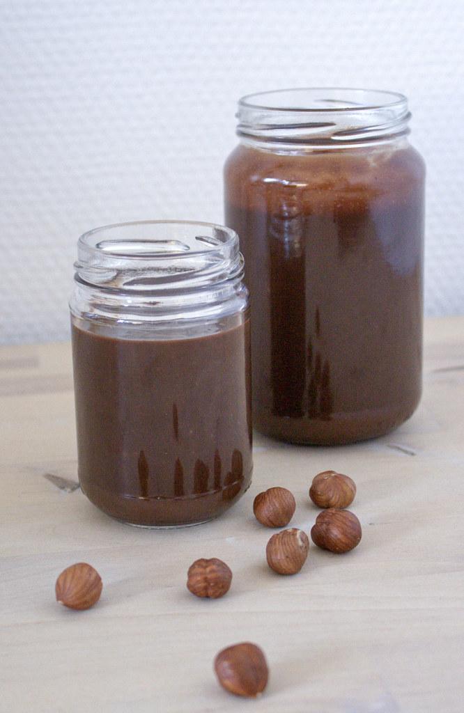 Hjemmelavet chokoladepålæg - nutella