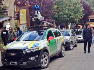 Google Street View in San Martín de los Andes, Argentina