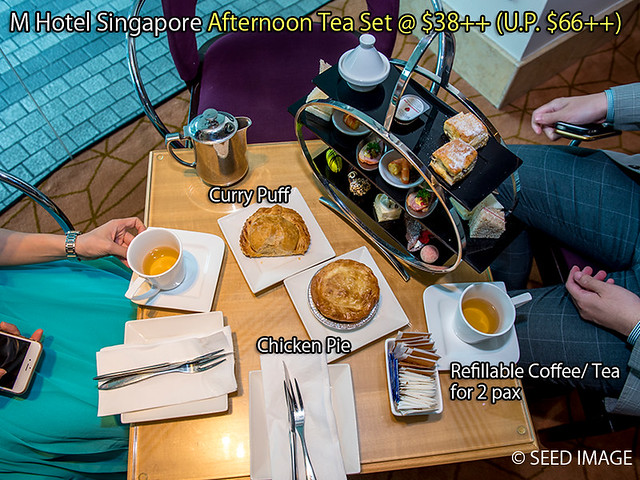 M Hotel Singapore Afternoon Tea Set Cost