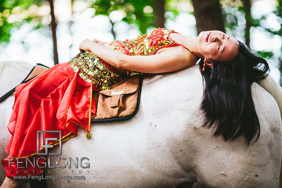 Belle | Lake Lanier Horse Portrait Session | New York Destination Wedding Photographer