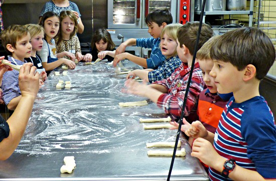 Cooking - making prayer pretzels