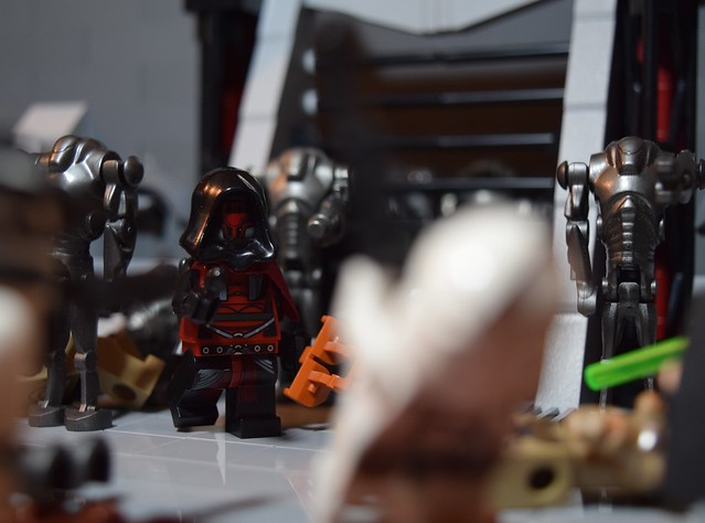The Hunt: Fortress on Geonosis