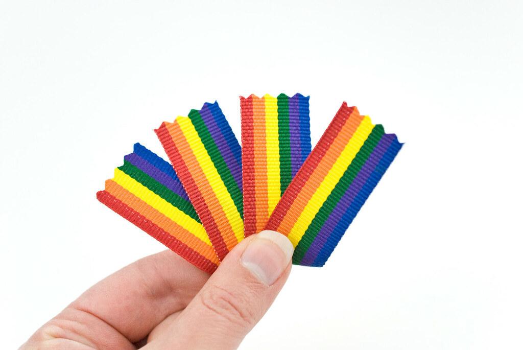 End of the Rainbow Felt Charm
