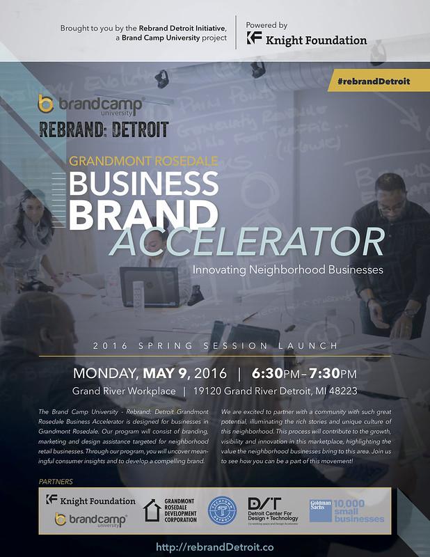 Brand Camp University - Business Brand Accelerator (Neighborhood Businesses)