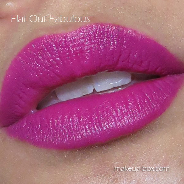 13.1 MAC Flat Out Fabulous Dupe - Maybelline Mesmerizing Magenta
