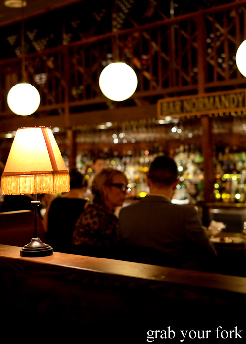 Bar Normandy at Restaurant Hubert by Dan Pepperell, Sydney