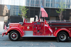 Traditional FDNY truck