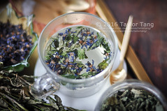 Borage and Mint Tea