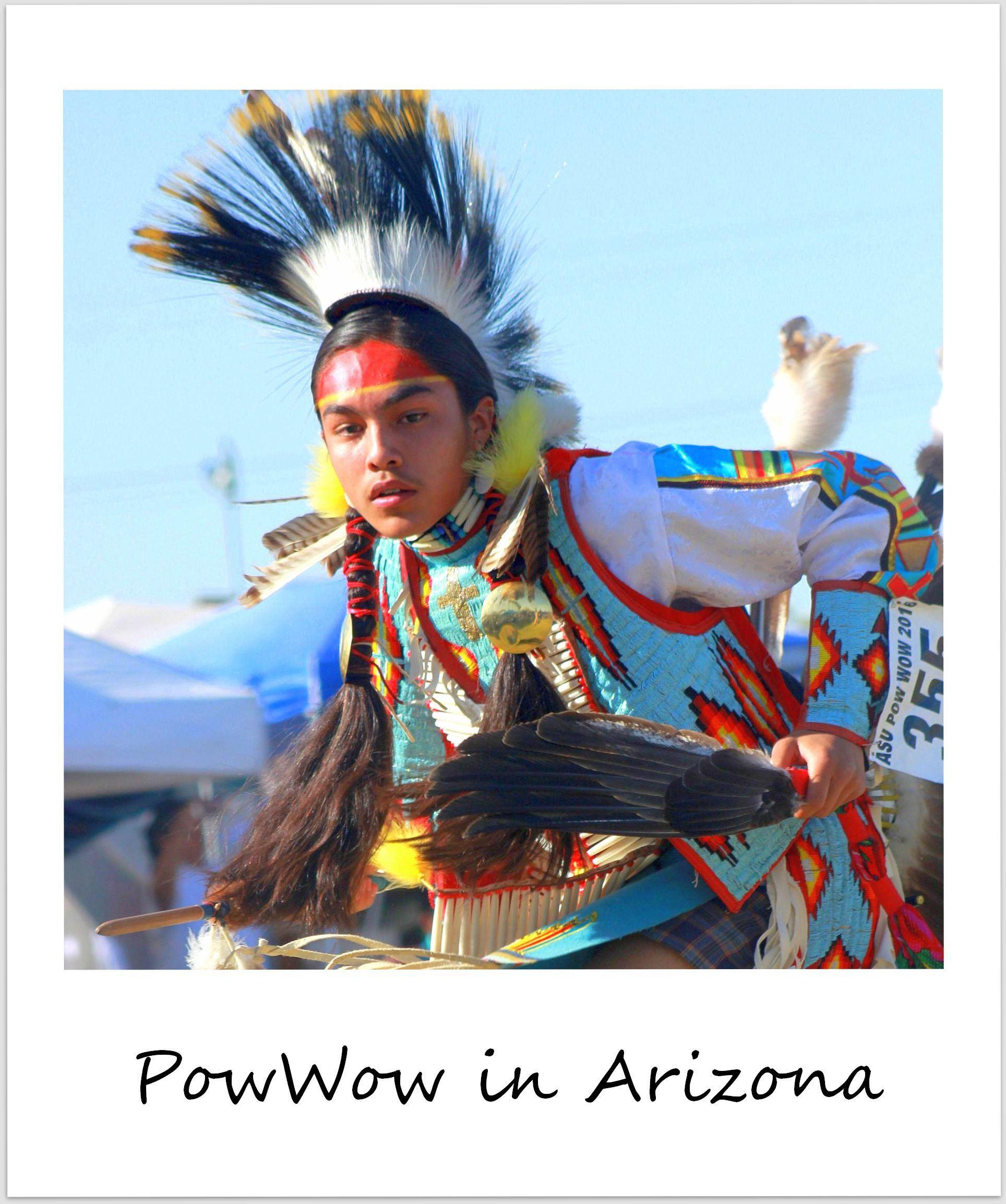polaroid of the week usa arizona powwow