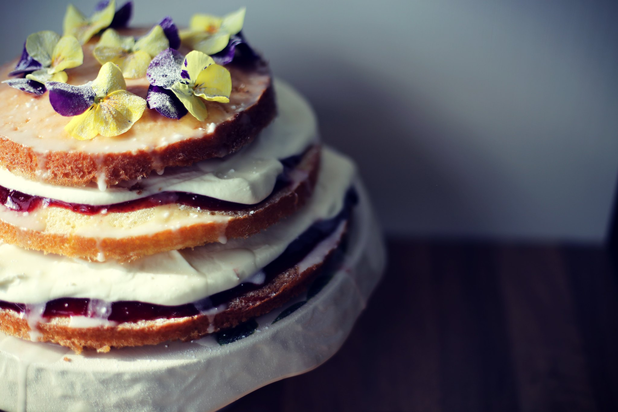 elderflower drizzle cake