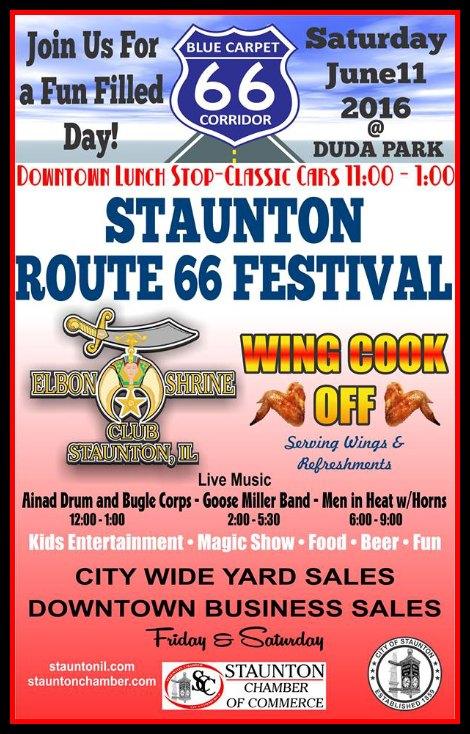 Route 66 Festival 6-11-16