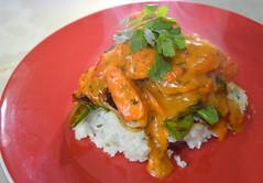 Red Thai Curry, Jasmine Rice