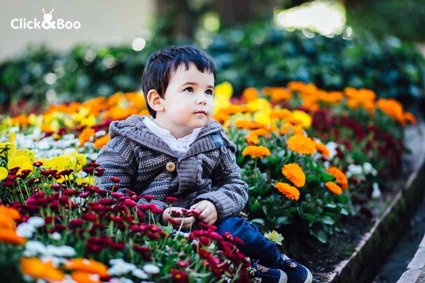Las flores en El Capricho
