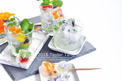 Edible Flower Ice Cube