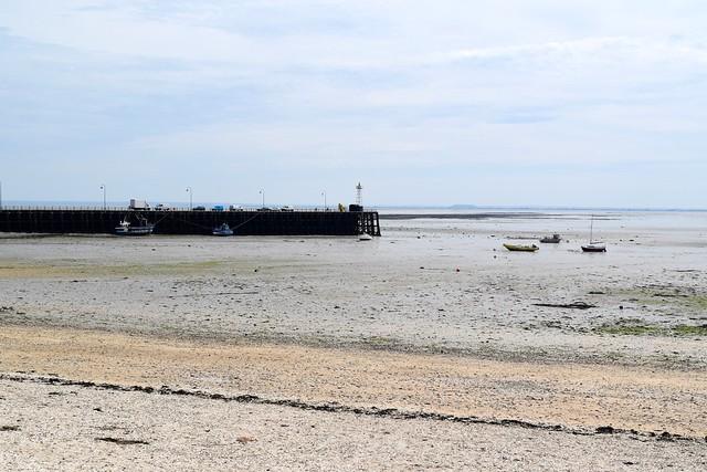 Cancale Pier, Brittany | www.rachelphipps.com @rachelphipps