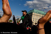 Syrer protestrieren in Berlin für die Rettung von Aleppo