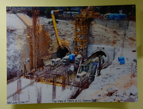 Pictures of Bangalore Metro Construction 04
