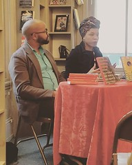 #latergram André Carrington and Rasheedah Phillips at Giovanni's Room book signing. So good and such smart work, great conversations. #grateful #Philly May 02, 2016 at 10:00AM