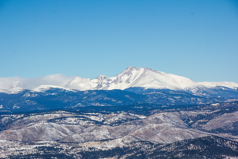 Longs Peak view from Green Mountain