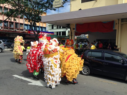 舞狮庆开业