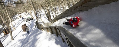 Muskegon Winter Sports luge