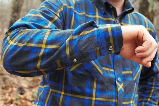Mood Fabrics Plaid Shirt