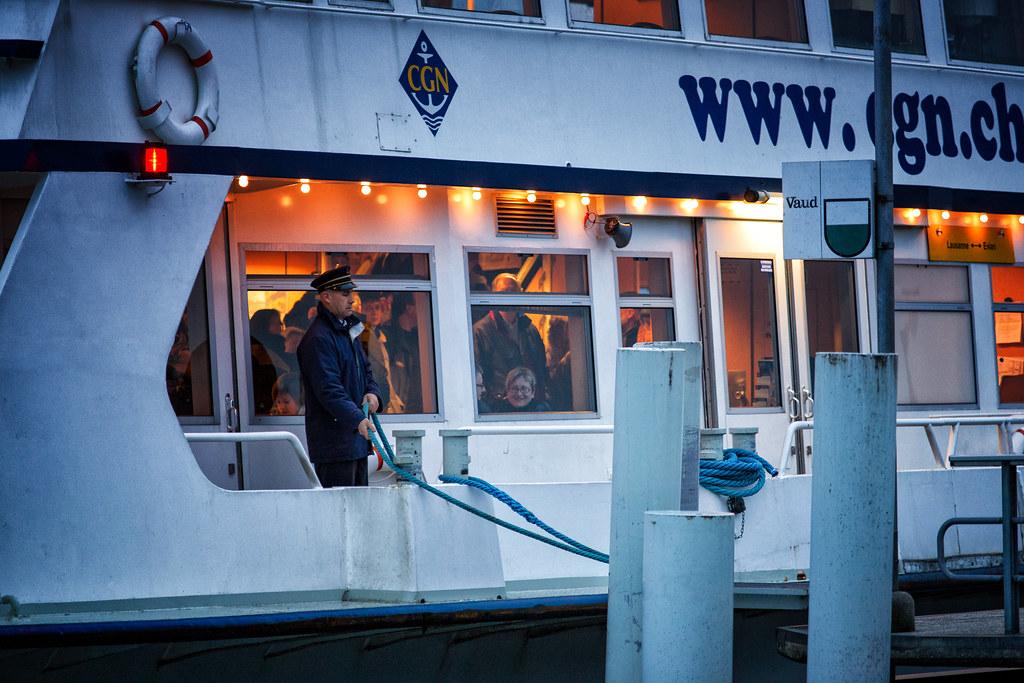 Lausanne Le ferry