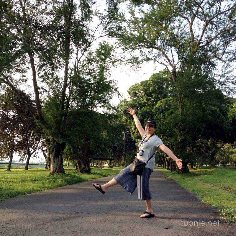 Prambanan, Yogyakarta - Suanie in the park