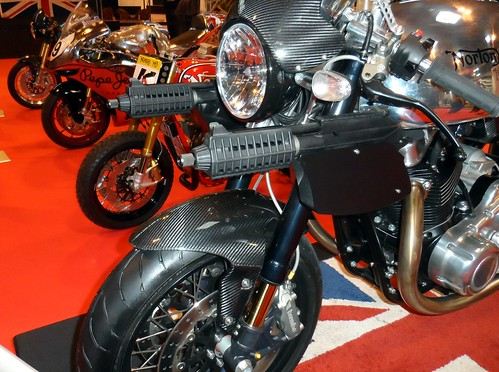 Norton motorcycle that was in specter