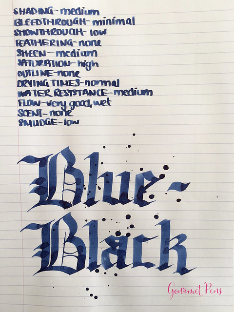 Ink Shot Review Pilot Blue-Black @JetPens  (5)