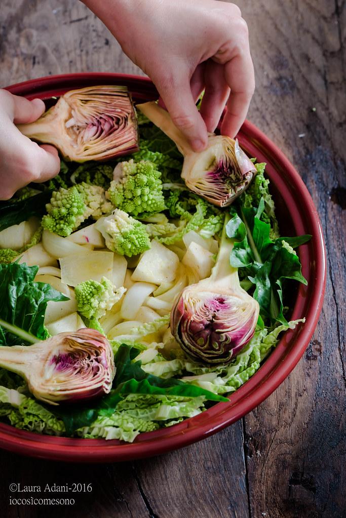 tajine alle verdure e fagioli