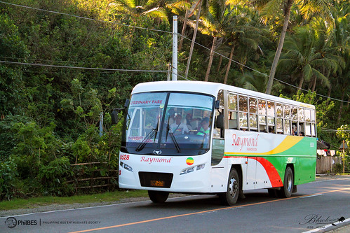 bus transport daewoo raymond santarosa society philippine enthusiasts doosan 9528 bf106 daewoobus philbes de08tis