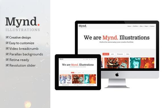 Creativemarket Mynd v1.0 – Creative Portfolio Theme