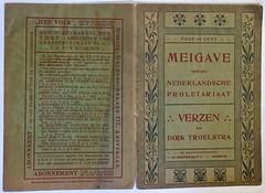 Meigave van Dirk Troelstra 1870- 1902